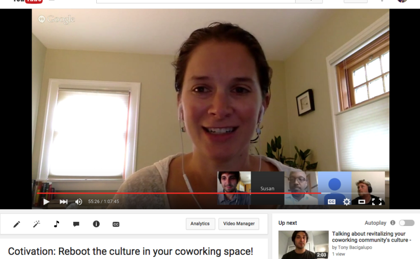 Watch our video chat about rebooting the culture in your community now! (plus 4 handy tips)
